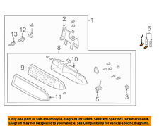 GM OEM Headlight Head Light Lamp-Headlamp Assembly Rivet 15022087