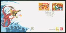 Mayfairstamps SINGAPORE FDC 2000 COVER ZODIAC SERIES DRAGON COMBO wwk43887