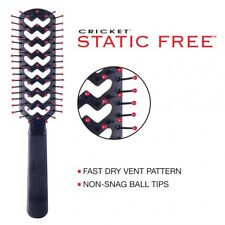 "CRICKET STATIC FREE HAIR BRUSH - FAST FLO ""FREE SHIPPING"""