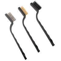 3pcs Gun Rifle Cleaning Brush Tool Set Hand Gun Brush Set  Cleaning Kit Tool