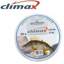 Climax: nylon Perche 0.25mm 5.700Kg 250m