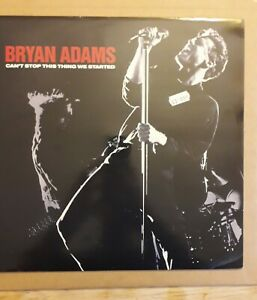 """BRYAN ADAMS CANT STOP THIS THING WE STARTED 12"""" VINYL ETCHED DISC ONE SIDED..."""