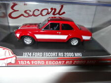 Artículos de automodelismo y aeromodelismo color principal rojo Ford escala 1:43