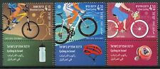 Israel 2019 MNH Road Mountain Urban Cycling 3v Set Bicycles Sports Stamps