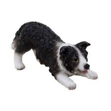 Vivid Miniature World MW04-004 Resin Playful Sheepdog Ornament by Vivid Arts