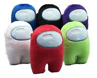 3.9inch/10cm Among Us Merch Crewmate Stuffed Plush Plushie Toy Action Gamer