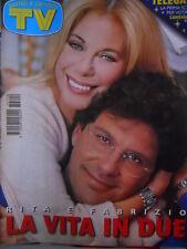 TV Sorrisi e Canzoni n°14 1997 Pitura Freska  - Rita Dalla Chiesa [D8]