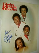 More details for gladys knight         autograph on tour programme    ...1977