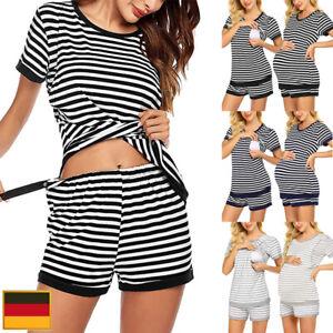 Umstandsmode Schwangerschafts Stillpyjama Stillpyjama Stillschlafanzug Hausanzug