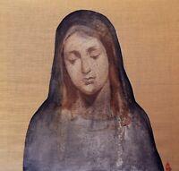 La Madonna- Quadro Contemporanea Bellissimo /olio su tela Juta