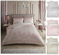Luxury Design  ANTOINETTE Floral Printed Duvet Quilt Cover Set Bed Set All Size