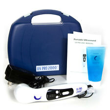 US Pro 2000 2nd Ed. Ultrasound Portable Therapy Unit+extra 2. oz Gel Ships Free