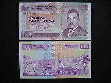 BURUNDI  100 Francs 2011  (P44b)  UNC