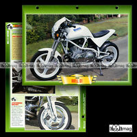 #401.10 Fiche Moto BUELL 1200 S1 LIGHTNING  '99 Motorcycle Card