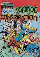 BD--ESCADRON DES ETOILES N° 4 / LA GRANDE CONSPIRATION