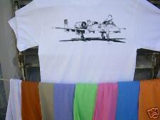 Airplane T Shirt Fairchild Republic A-10 L