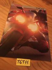 Yamaha YZF R1 1000 prospectus brochure catalogue catalog publicité
