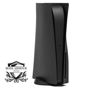 BossArmour Elite Black PS5 Faceplate, Disc Edition Snap-on Console Cover