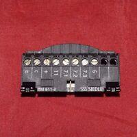 Siedle Klemmblock für TM 611-3 Tastenmodul Einbau  TM 611-03 (60)