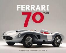 Ferrari: 70 Years Book~History from 1947~Stunning Archival Photos~NEW HC