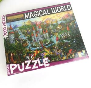 Sealed MAGICAL WORLD Jigsaw Puzzle Castle Plus by Michael Fishel 1000 Pieces NEW