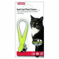 Beaphar Soft Cat Flea Collar Various. Sparkly, Reflective or Spotty. Smart Cat !