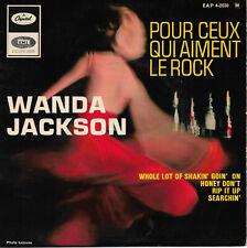 WANDA JACKSON Pour Ceux Qui Aiment Le Rock EP Rock & Roll Rockabilly