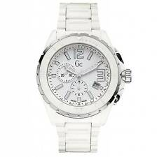 GUESS COLLECTION,SWISS MADE MEN'S CERAMIC CHRONOGRAPH WATCH, X76015G1S $750 75