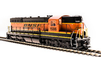 BROADWAY LIMITED 5801 HO SD9 BNSF 1587 Swoosh Paragon3 Sound/DC/DCC