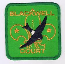 Traded For At World Jamboree Blackwell Court GRN Brd GRN Bkg YEL FDL 600875