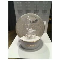 New CHANEL Snow Globe Joaillerie Two Deers Snow Globe
