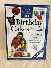 CREATIVE ACTIVITY BIRTHDAY CAKES FOR KIDS KIT RECIPE BOOK PASTRY BAG TIPS & MORE