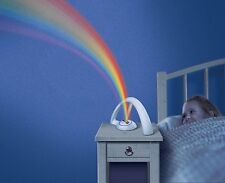 LED Rainbow Projector Light Kids Bedroom Night Lamp Color Magic Romantic Xmas US