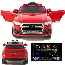 Audi Q7 quattro Kinderauto Kinderfahrzeug Kinder Elektroauto 2x Motoren 12V rot