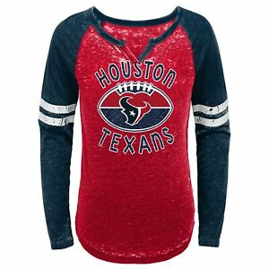 Outerstuff NFL Youth Girls (7-16) Houston Texans Long Sleeve T-Shirt