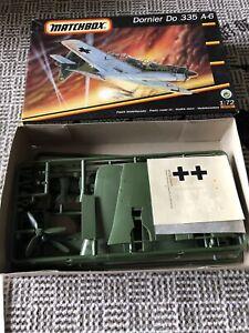 Matchbox 40135 Dornier Do 335 A-6 Luftwaffe  Flugzeug  Bausatz 1:72