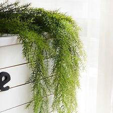 Artificial Hanging Vine faux fake Silk Snapdragon Pine Needles For Home Decor