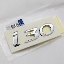 Genuine OEM i30 Logo Emblem Badge 1Pcs For Hyundai Elantra GT i30