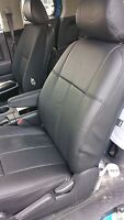 2006-2011 Honda Civic DX LX LS-all models Black Clazzio  leather seat covers kit