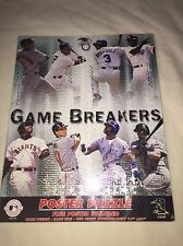 "New Starline MLB Game Breakers Poster Puzzle 16""x22"" A-Rod Jeter Sosa Chipper"