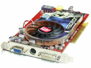 Sapphire 102-A47511-00-AT ATI Radeon X850Pro AGP Video Graphics Card 256MB GDDR3