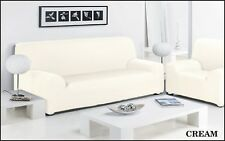Sofa Slip Over Stretch Cover Settee & Arm Chair 1/2/3 Seater Pet Protector Throw