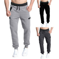 Homme Pantalon Jogging Survêtement Pantalon Sport Sweat-Pants Jogger Pantalons