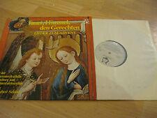 LP Tauet, Himmel, den Gerechten Vinyl SCGLX 73 889 Weihnachten Regensburg