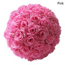 20 cm X Fleurs Artificielles Fleur Rose Boules topiaire Panier Suspendu Plante Accueil-PK