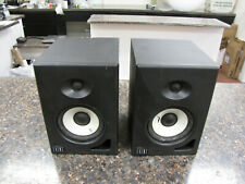 Pair of Event Alp 5 Biamplified Field Monitor Speakers Active Linear Phase