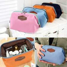 Cosmetic Makeup Bags Printed Travel Toiletry Case Organizer Holder Pouch Handbag