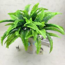 New Green Leaves Artificial Grass Fake Leaf Greenery Foliage Plastic Plant Gems