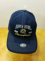 NWT Vintage St Louis Los Angeles Rams 1999 Super Bowl NFL Hat Cap Snapback NEW