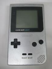 GB -- Game Boy Light Console Silver -- Game Boy, JAPAN Game Nintendo. 196